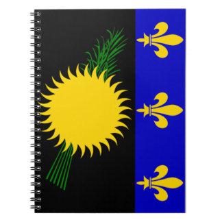 Bandera de Guadalupe (Francia) Libro De Apuntes