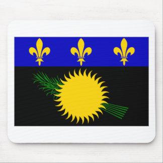 Bandera de Guadalupe (Francia) Alfombrilla De Ratón