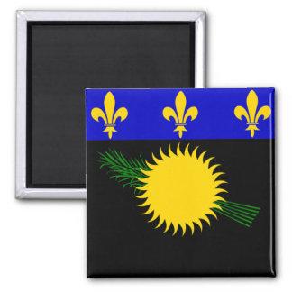 Bandera de Guadalupe Imán Cuadrado