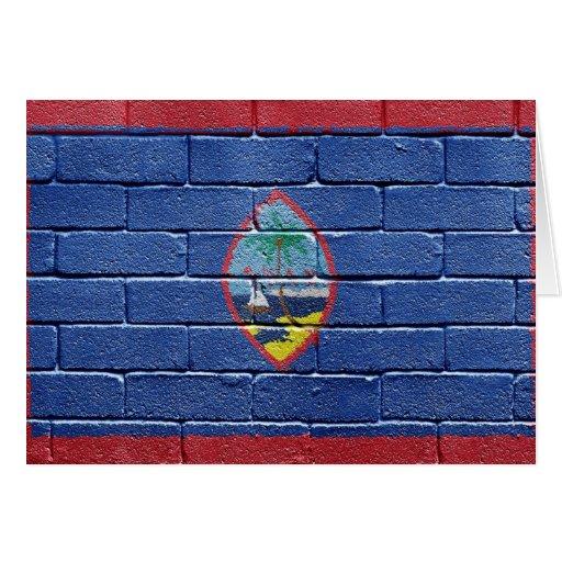 Bandera de Guam Felicitacion