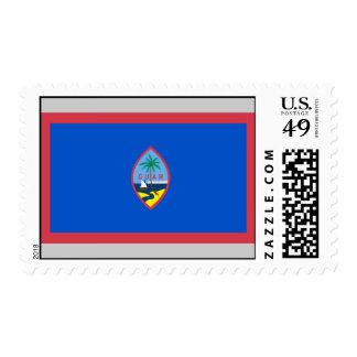 Bandera de Guam Franqueo