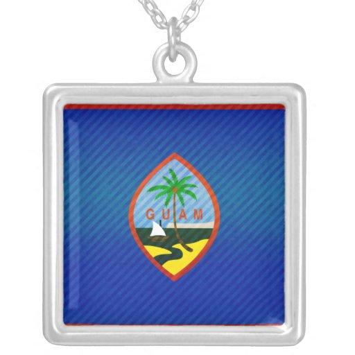 Bandera de Guam pelada moderna Grimpolas Personalizadas