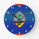 Bandera de Guam pelada moderna Relojes