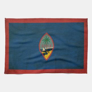 Bandera de Guam Toalla De Mano