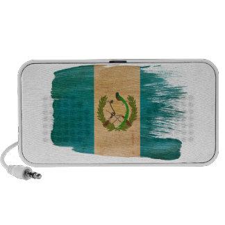 Bandera de Guatemala Laptop Altavoz