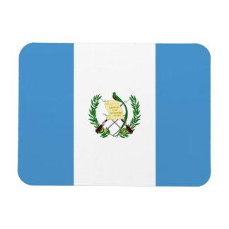 Bandera de Guatemala Iman Rectangular
