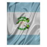 Bandera de Guatemala Plantilla De Membrete