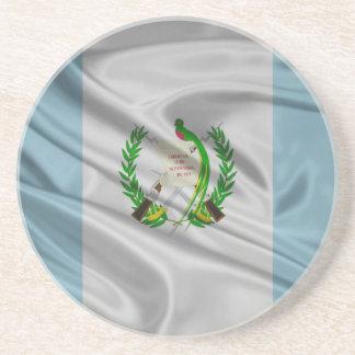 Bandera de Guatemala Posavasos Cerveza