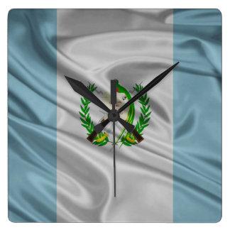 Bandera de Guatemala Relojes De Pared
