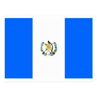 Bandera de Guatemala Tarjeta Postal