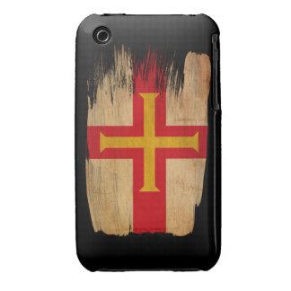 Bandera de Guernesey Carcasa Para iPhone 3
