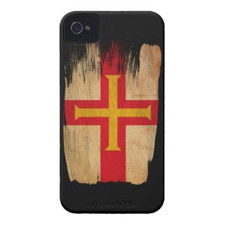 Bandera de Guernesey Carcasa Para iPhone 4