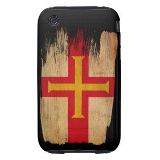 Bandera de Guernesey Carcasa Resistente Para iPhone