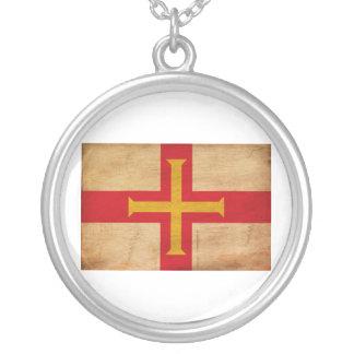 Bandera de Guernesey Colgante Redondo