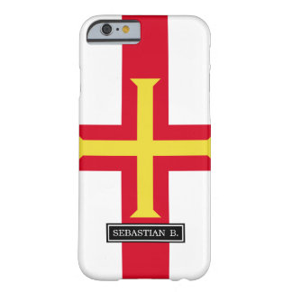 Bandera de Guernesey Funda Barely There iPhone 6