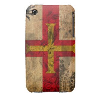 Bandera de Guernesey Funda Bareyly There Para iPhone 3 De Case-Mate