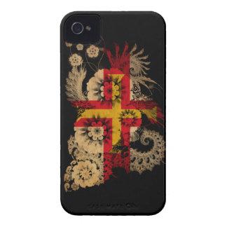 Bandera de Guernesey Funda Para iPhone 4