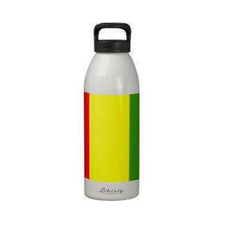 Bandera de Guinea Botellas De Agua Reutilizables