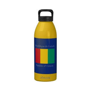 Bandera de Guinea Botallas De Agua