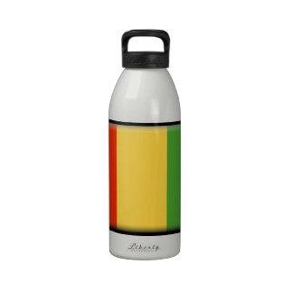 Bandera de Guinea Botellas De Beber