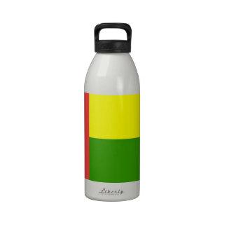 Bandera de Guinea-Bissau Botellas De Agua Reutilizables
