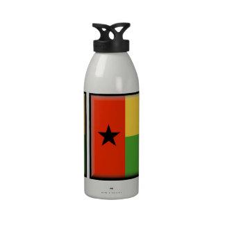 Bandera de Guinea-Bissau Botallas De Agua