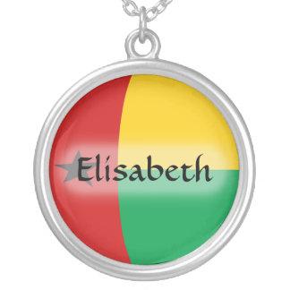 Bandera de Guinea-Bissau + Collar conocido