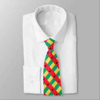 Bandera de Guinea-Bissau Corbata Personalizada