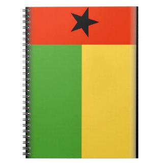 Bandera de Guinea-Bissau Libro De Apuntes
