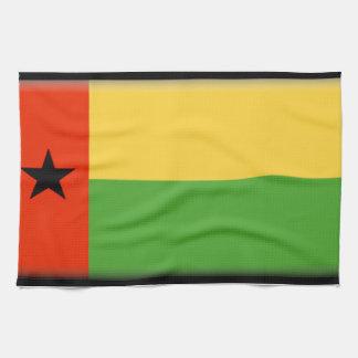 Bandera de Guinea-Bissau Toalla De Cocina