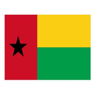 Bandera de Guinea-Bissau Postales