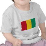 Bandera de Guinea Camisetas