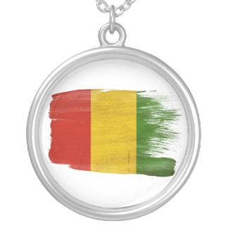 Bandera de Guinea Colgante Redondo
