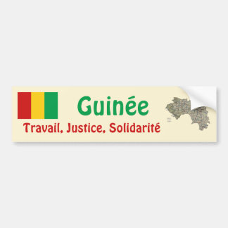 Bandera de Guinea-Conakry + Pegatina para el Pegatina Para Auto