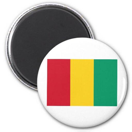Bandera de Guinea Imán Para Frigorífico