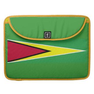Bandera de Guyana 15 pulgadas Funda Para Macbook Pro