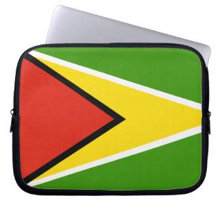 Bandera de Guyana Funda Computadora
