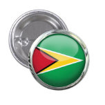 Bandera de Guyana Pin
