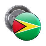 Bandera de Guyana Pins