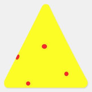 Bandera de hadas # 1 calcomanía de trianguladas