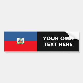 Bandera de Haití Pegatina Para Auto