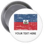 Bandera de Haití del vintage Pin