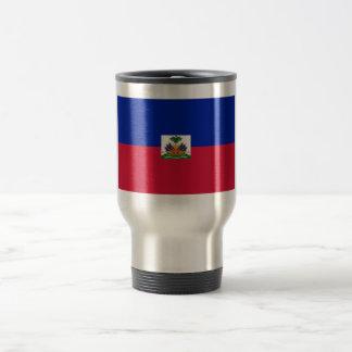 Bandera de Haití Taza De Viaje