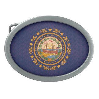 Bandera de Hampshirite del modelo del vintage nuev Hebillas De Cinturon