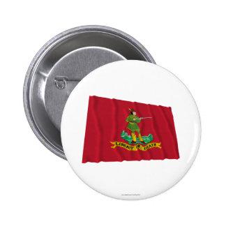Bandera de Hannover Associators Pin Redondo 5 Cm
