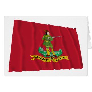 Bandera de Hannover Associators Tarjeta