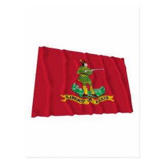 Bandera de Hannover Associators Tarjeta Postal