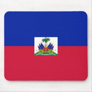 Bandera de Hatian Tapete De Raton