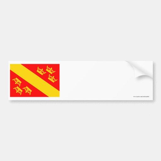 Bandera de Haut-Rhin Etiqueta De Parachoque