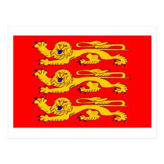 Bandera de Haute-Normandie Postales
